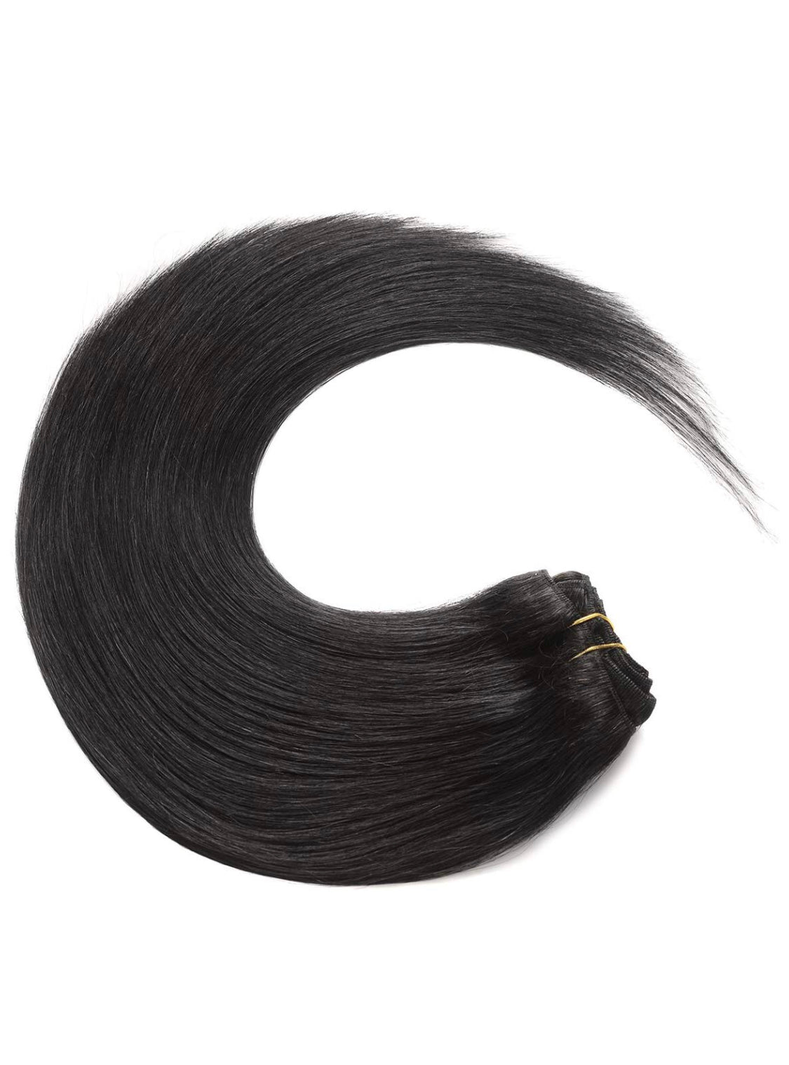 Black Clip In Hair Extensions