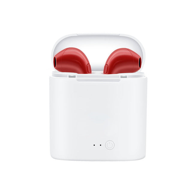 Ear Pods White/Red