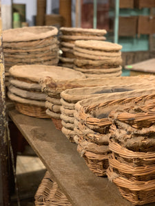 Long Wicker Baguette Basket