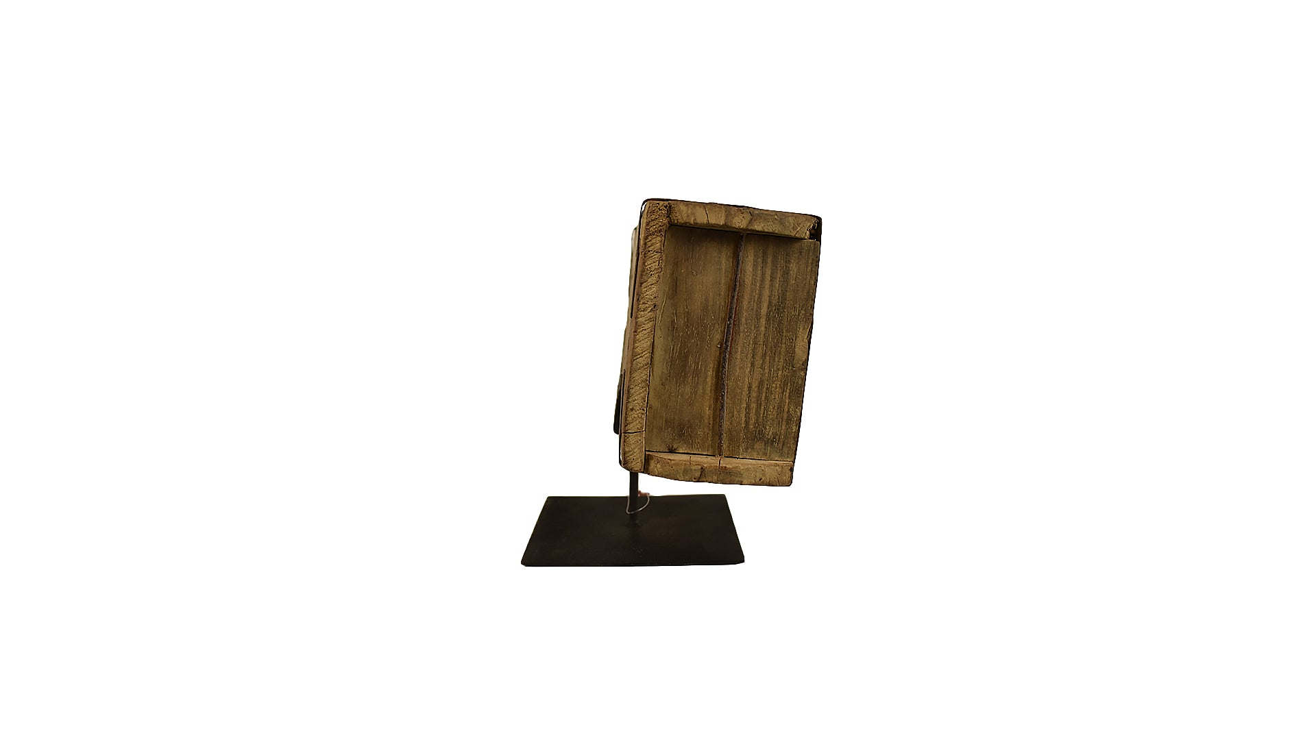 Wooden Brick Mold on Stand