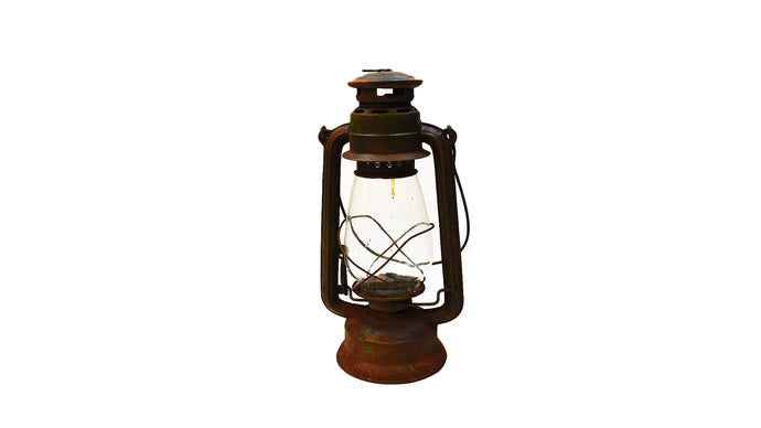 Rustic Camp Lantern | Railway Vintage Lantern | Antique Hurricane Lamp