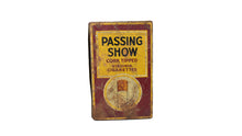 Load image into Gallery viewer, 1930's Vintage Metal Passing Show Cigarette Box