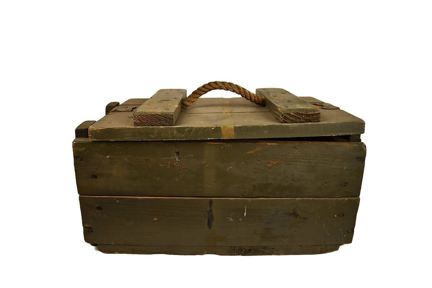 Wooden Crate Box | Army Military Box