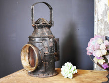 Load image into Gallery viewer, Vintage Railway Lantern