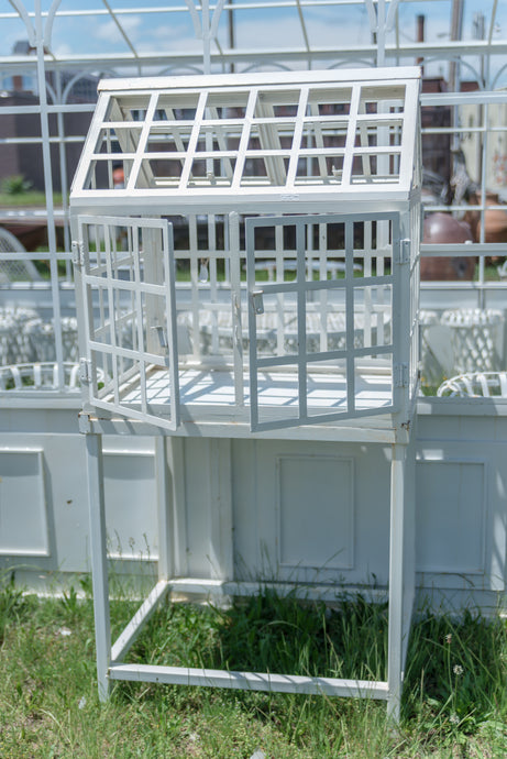Mini White Greenhouse