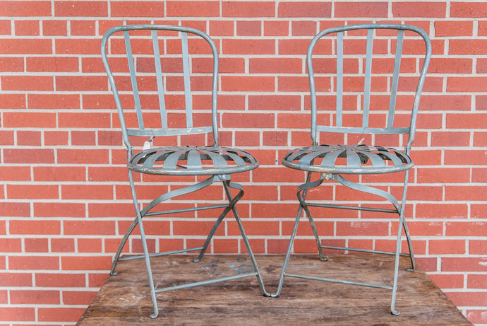 French Sunburst Bistro Chairs