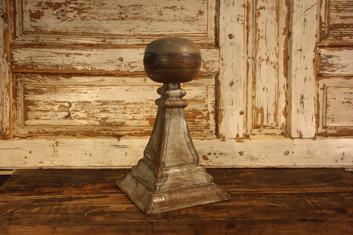 Rustic Metal Finial