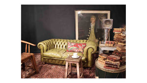 Green Chesterfield Sofa