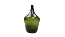 Load image into Gallery viewer, Green Glass Wine Bottle