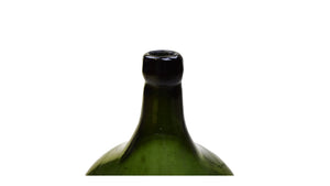 Green Glass Wine Bottle