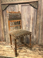 Load image into Gallery viewer, Vintage Lion Dining Chair- Pair