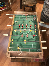 Load image into Gallery viewer, Vintage Foosball Table French, RARE Charton Football Field
