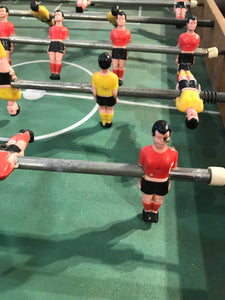 Vintage Foosball Table French, RARE Charton Football Field