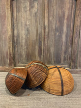 Load image into Gallery viewer, Round Bamboo Basket