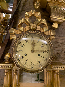 Vintage Victorian Style Wall Clock