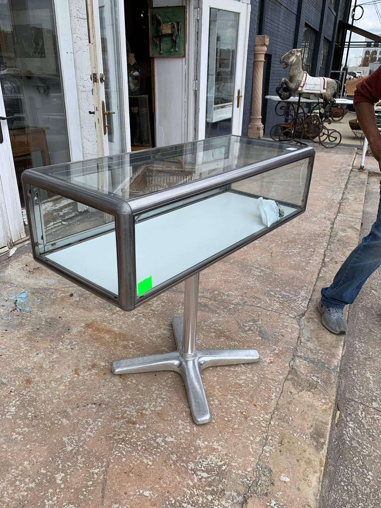 Glass Showcase Table