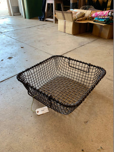 Wire Basket Black