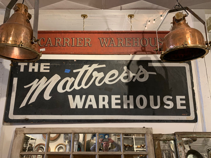 The Mattress Warehouse Wall Sign