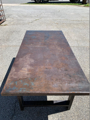 Industrial Style Metal Table