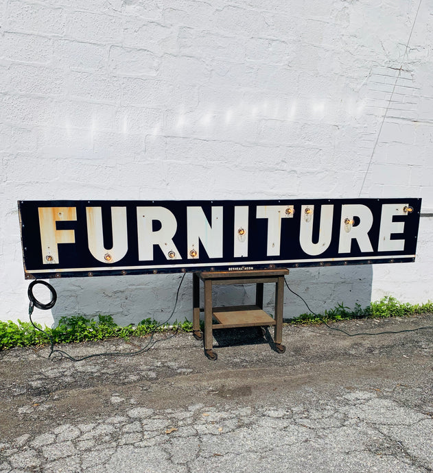 Furniture Sign