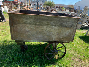 3 Wheeler Wooden Cart