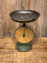 Load image into Gallery viewer, Vintage Kitchen Scale, Rustic Farmhouse Fruit Bowl