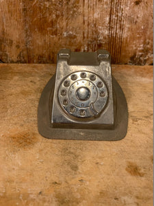 Telephone Chocolate Mold, Patisserie, Retro phone Rare Collectible