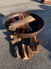 Load image into Gallery viewer, Iron Fire Pits with Stand