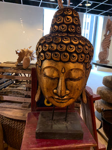 Buddah Head on Stand