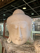 Load image into Gallery viewer, White Buddah Face