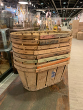 Load image into Gallery viewer, Wooden Crate Style Basket