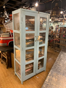 Glass Cabinet with 3 Shelves