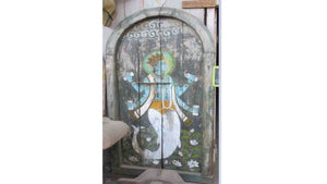 Krishna Painted Door