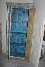 Load image into Gallery viewer, Large Chippy Blue Cabinet