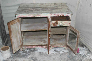 Chippy Wood Cabinet