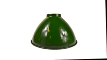 Load image into Gallery viewer, Retro Enamel Dome Hanging Light- Green (UL Listed)