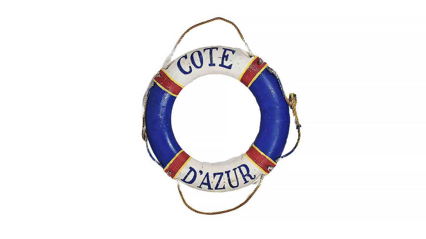 Painted Nautical Ring