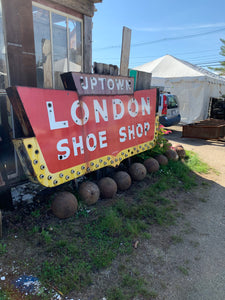 London Shoe Shop Sign Board
