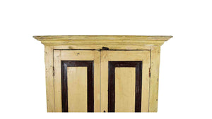 Pale Yellow Cabinet