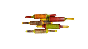 Indian Multi Color Rolling Pins