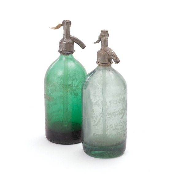 Seltzer Bottles- Green