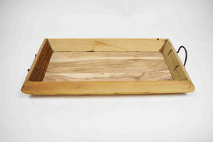 Reclaimed Wooden Tray- Set of 3