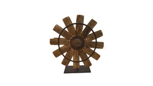 Vintage Silk Spinning Wheel