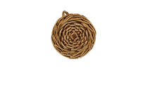 Load image into Gallery viewer, Antique French Wicker Wine Demijohn Jug (Small)