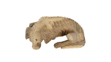 Load image into Gallery viewer, Wooden Sleeping Dog