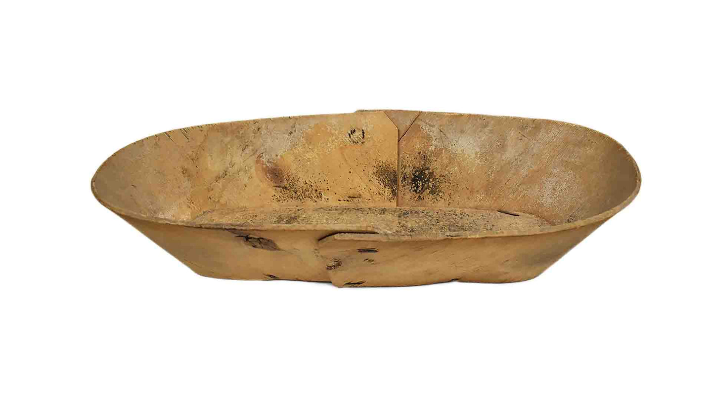 Boat Wooden Bowl