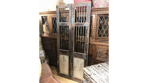 Old Indian Jali Doors