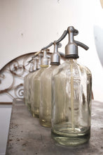 Load image into Gallery viewer, Seltzer Bottle Vintage- Clear