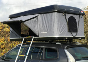 Streamline Plus - Hard Shell Roof Tent. 145cm W Double Bed size