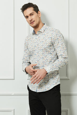 Chemise STRETCH motifs EPIC en slim fit